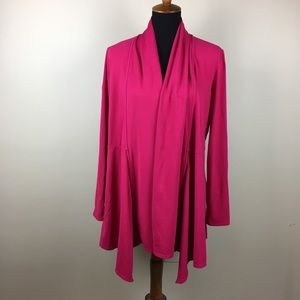 Athleta open front drapey cardigan size XL
